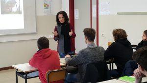 Vania Russo in aula