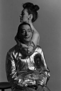 Salvador Dalì e sua moglie Gala